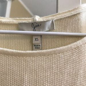 Joie Cream/Off White Sweater